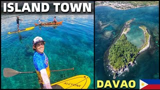 BecomingFilipino – FILIPINO ISLAND TOWN – Exploring Clear Ocean Paradise By Paddle Board (Davao, Mindanao)