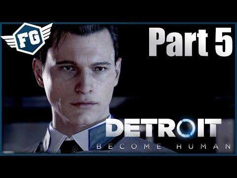 HLEDÁNÍ JERICHA - Detroit: Become Human #5