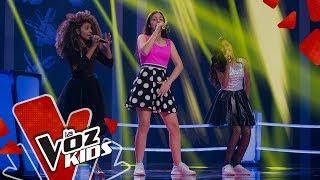 Alejandra, Hadith y Jaziel cantan Somebody to love – Batallas   La Voz Kids Colombia 2019