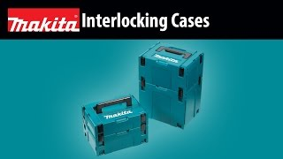 "MAKITA Interlocking Case,Small,4-3/8""x15-1/2""x11-5/8"" - Thumbnail"