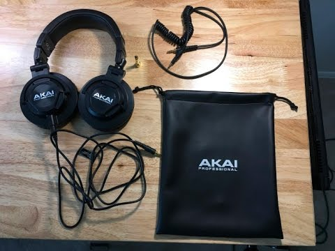 Akai Professional Project 50X Headphone Review