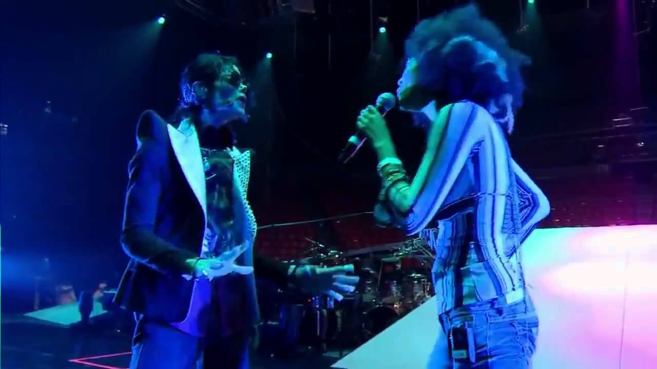 Michael Jackson & Judith Hill - I Just Can't Stop Loving You (THIS IS IT VERSION)