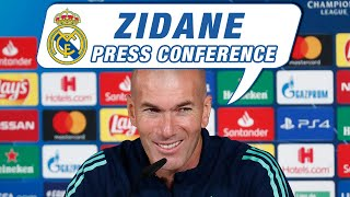 Real Madrid - Galatasaray | Zidane and Marcelo's pre-match press conference