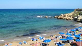 preview picture of video 'Cyprus Beach Between Protaras and Paralimni'