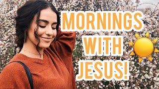 IN-DEPTH MORNING ROUTINE W/JESUS