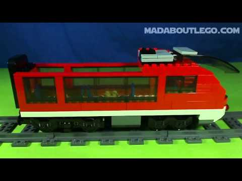 Vidéo LEGO City 7938 : Le train de passagers