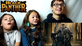 BLACK PANTHER Official Trailer #2 Reaction!!!