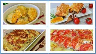 ТОП 4 Потрясающе вкусных рыбных блюд на праздничный стол