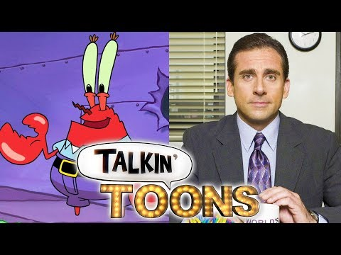 Mr. Krabs as Michael Scott (Script Reading)