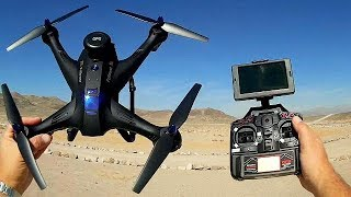 X183 Double GPS Follow and Circle Me FPV Camera Drone Flight Test Review