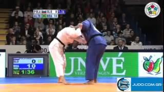Judo Grand Prix Amsterdam 2011 1/2 Final +78kg POLAVDER (SLO)-ALTHEMAN (BRA)