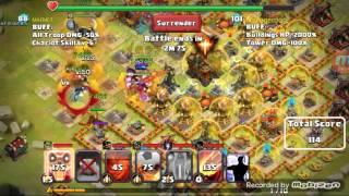 Guild clash battle