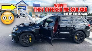 Took My Jeep TRACKHAWK To CARMAX - CAN'T BELIEVE WHAT THEY SAID