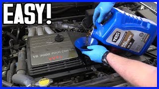 Engine Oil Change Toyota Highlander