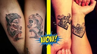 Best Couple Tattoo Ideas That Will Keep Your Love Forever