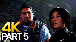 Shadow of the Tomb Raider Gameplay Walkthrough Part 5 - SOTTR PC 4K 60FPS
