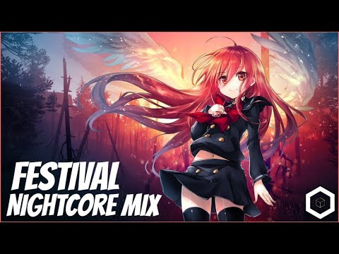 【Nightcore】→ FESTIVAL Music Mix 2018 || Best Of Marshmello, Alan Walker, Trap, EDM ✘ 1H Gaming Music