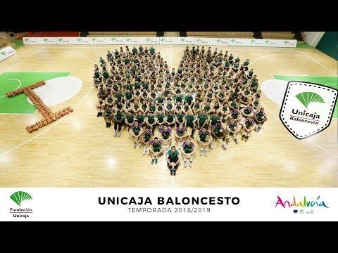 Unicaja Málaga realiza su foto de familia de la temporada