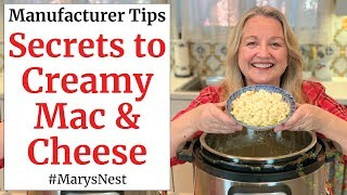 Instant Pot Mac and Cheese - The Right Way!