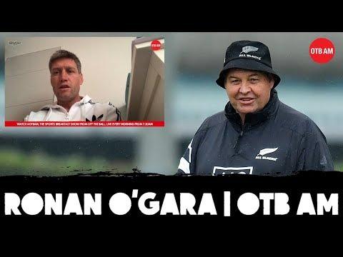 "Ronan O'Gara: ""Cold"" Steve Hansen   No Schmidt phone-call   Ireland vs All Blacks"
