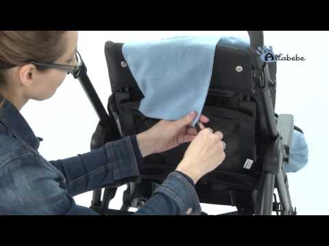 Altabebe Sommerfußsack für Kinderwagen AL2450L Video-Anleitung