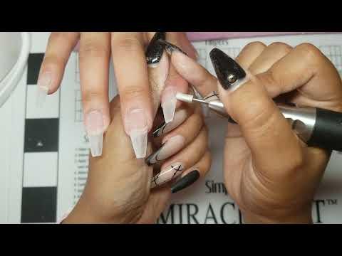 Matte Gel-X Nails