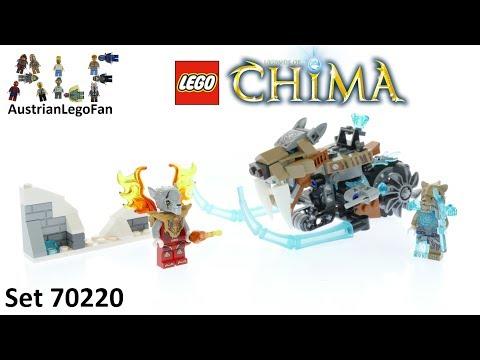 Vidéo LEGO Chima 70220 : La moto sabre