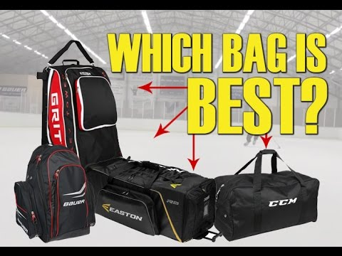 What Is The Best Ice or Inline Hockey Equipment Bag - Which to buy