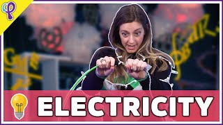 Circuits, Voltage, Resistance, Current - Physics 101 / AP Physics Review with Dianna Cowern