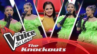 Sathisha Bhatt | Piya Tu Ab To Aaja | The Knockouts | The Voice Sri Lanka