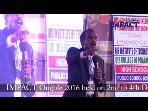 Change| Naresh | TELUGU IMPACT Ongole 2016