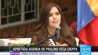 Miss Universo Paulina Vega habló sobre la nueva administración de Miss Universo