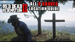 red dead all grave locations видео Видео