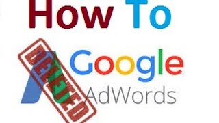 How To Delete Google Adword Account Within 3 Min