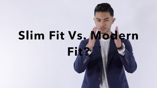 What Exactly is Slim Fit, Modern Fit, & Tailored Fit?