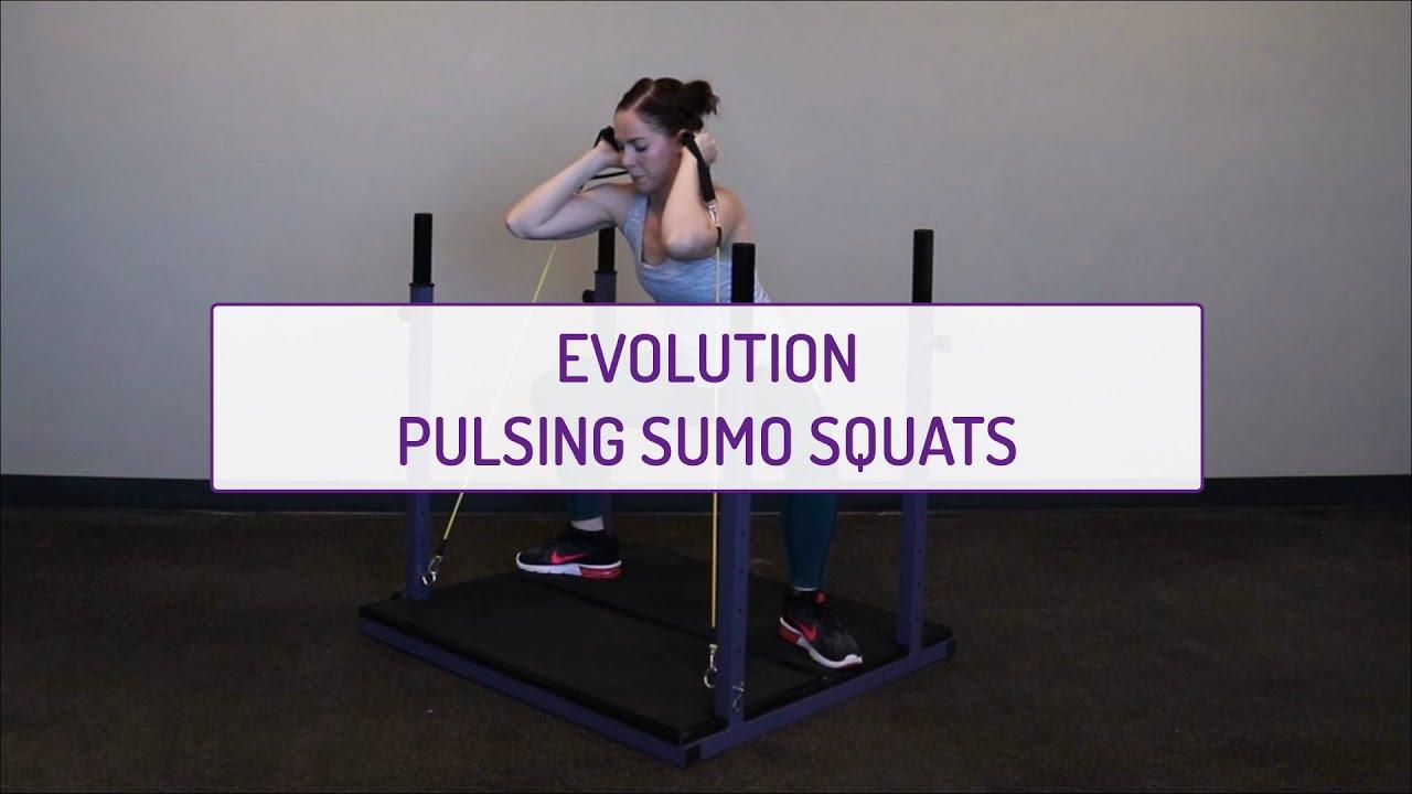 Evolution Pulsing Sumo Squats
