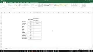 How to Calculate Percent Increase and Decrease in Excel