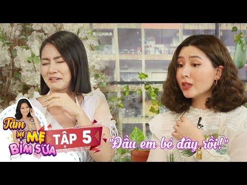Tâm Sự Mẹ Bỉm Sữa | Tập 5 FULL: Hot mom Heo Mi Nhon bị bỏ mặc trên bàn sinh vì bác sĩ mải tám chuyện