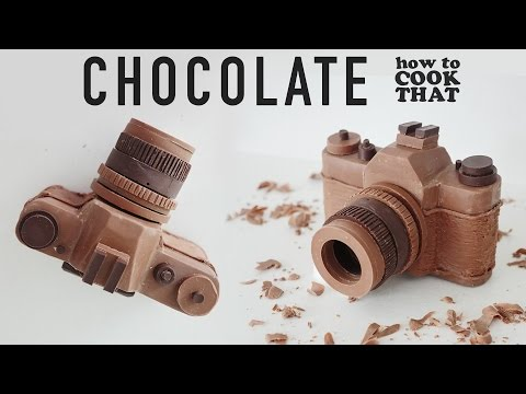 CHOCOLATE CAMERA How To Cook That Ann Reardon chocolate camera