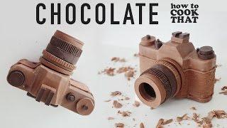 CHOCOLATE CAMERA How To Cook That Ann Reardon chocolate camera