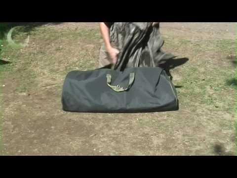 Gardner Waterproof Stash Bag - hordó alakú vízálló táska videó