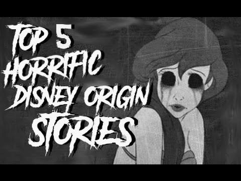 5 Disturbing & Dark Disney Tale Origins