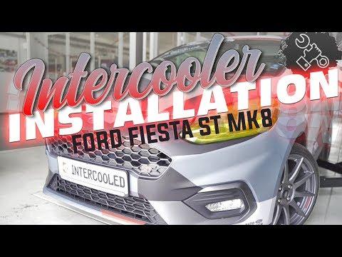 Wagner Tuning - Ford Fiesta ST MK8 Intercooler Installation