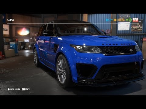 Need For Speed Payback - 1398HP, 242MPH Range Rover Sport SVR Race Build | Fully Upgraded