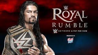 WWE 2K16: WWE Royal Rumble 2016 Match Simulations
