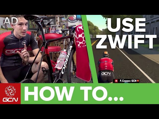 How To Use Zwift | Zwift For Beginners | GCN