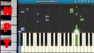 Prince Royce - Darte Un Beso Piano Tutorial - Como Tocar - Synthesia