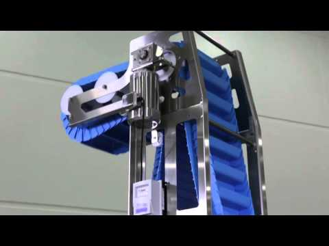 Dorner AquaPruf VBT (Vertical Belt Technology) Dorner Conveyor Systems