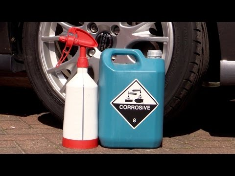 What Happens When You Let a Corrosive Wheel Cleaner Dry?