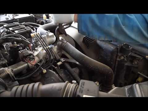 V6 Mitsubishi ml triton timing belt replacement time lapse